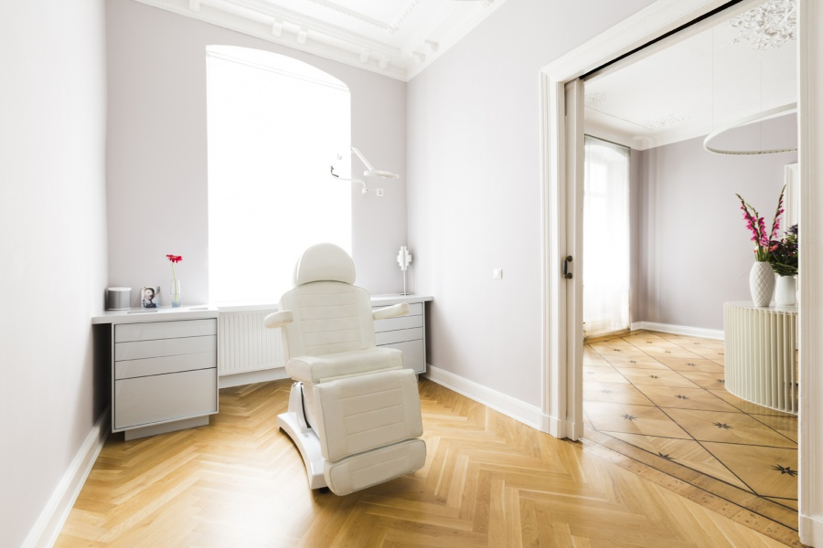 Behandlungsbereich der Praxis Ästhetik Berlin im Zentrum Berlins